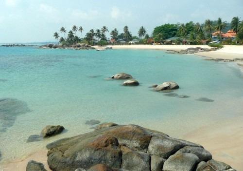 parai tenggiri beach bangka island