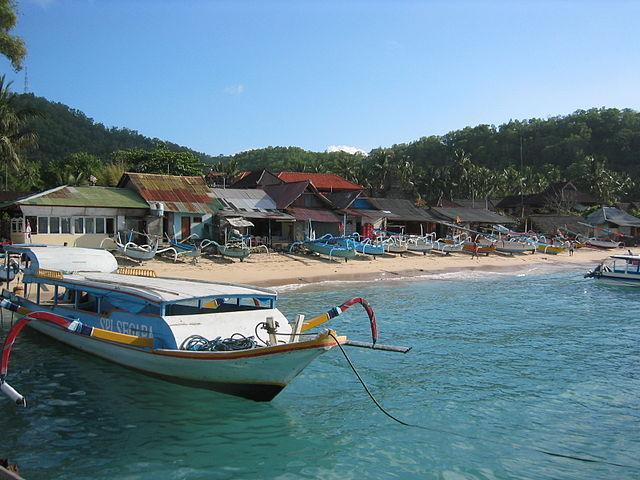 Padang Bai, Bali