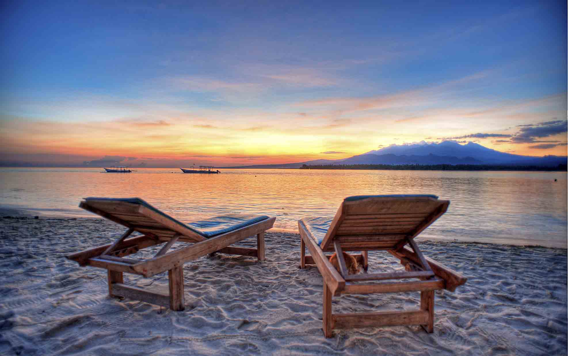 Gili Islands With A  Year Old
